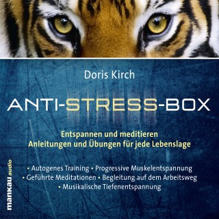 Doris Kirch: Progressive Muskelentspannung (Hörbuch 2 aus der Anti-Stress-Box)