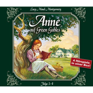 Lucy Maud Montgomery: Anne auf Green Gables, Box 1: Folge 1-4