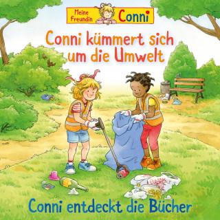 Hans-Joachim Herwald, Liane Schneider, Ludger Billerbeck: Conni kümmert sich um die Umwelt / Conni entdeckt die Bücher