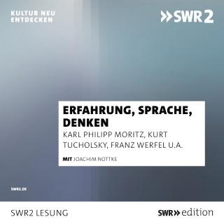 Karl Philipp Moritz, Kurt Tucholsky, Stefan Grossmann, Franz Werfel: Erfahrung, Sprache, Denken
