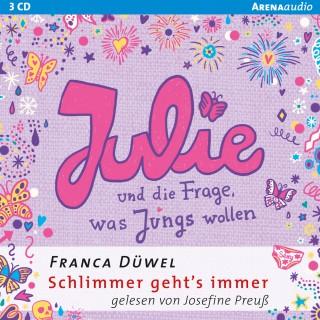 Franca Düwel: Julie und die Frage, was Jungs wollen