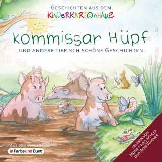 Götz T. Heinrich, Sarah Schreckenberg: Kommissar Hüpf und andere tierisch schöne Geschichten