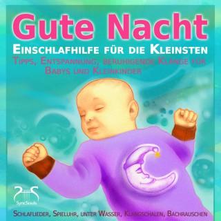 Torsten Abrolat, Patrice Harksen: Gute Nacht - Einschlafhilfe für die Kleinsten - Schlaf Musik für Babys und Kleinkinder