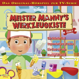 Gabriele Bingenheimer: Disney Meister Manny's Werkzeugkiste - Folge 7