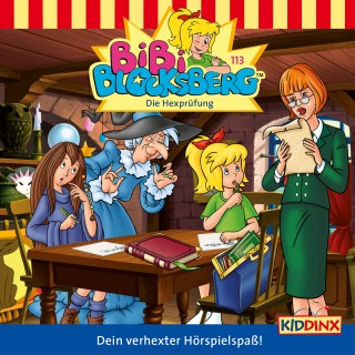 K.-P- Weigand: Bibi Blocksberg - Folge 113 - Die Hexprüfung