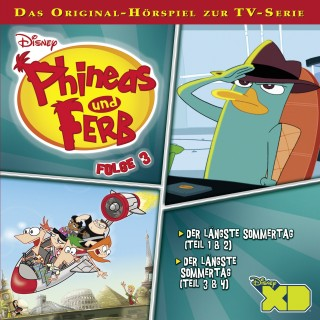 Gabriele Bingenheimer, Marian Szymczyk: Disney - Phineas und Ferb - Folge 3