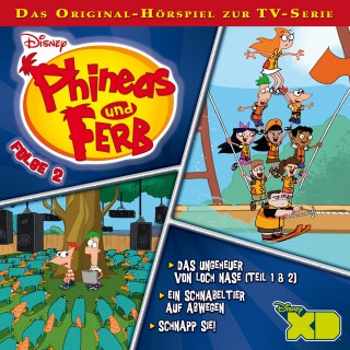 Gabriele Bingenheimer, Marian Szymczyk: Disney - Phineas und Ferb - Folge 2