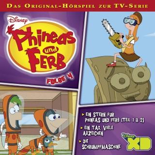 Gabriele Bingenheimer, Marian Szymczyk: Disney - Phineas und Ferb - Folge 4