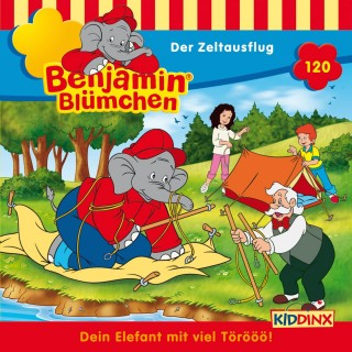 Vincent Andreas: Benjamin Blümchen - Der Zeltausflug