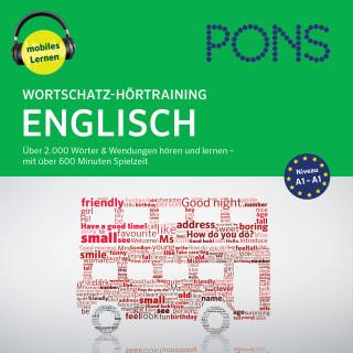 PONS-Redaktion: PONS Wortschatz-Hörtraining Englisch