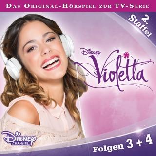 Gabriele Bingenheimer: Violetta - Staffel 2: Folge 3 + 4