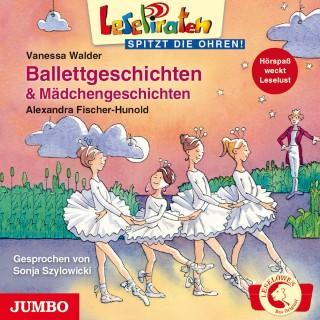 Alexandra Fischer-Hunold, Vanessa Walder: Lesepiraten. Balletgeschichten und Mädchengeschichten