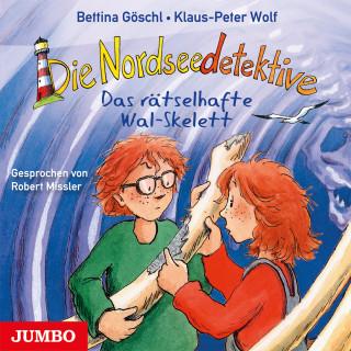 Klaus-Peter Wolf, Bettina Göschl: Die Nordseedetektive. Das rätselhafte Wal-Skelett