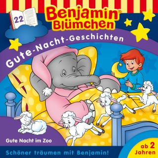 Vincent Andreas: Benjamin Blümchen - Gute-Nacht-Geschichten - Gute Nacht im Zoo