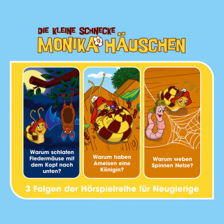 Kati Naumann: Die kleine Schnecke Monika Häuschen - Hörspielbox Vol. 3