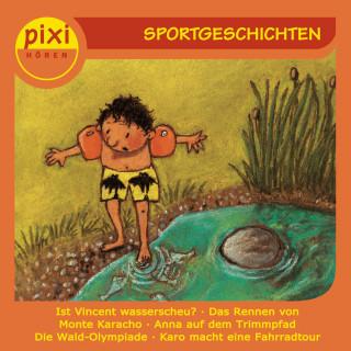 Julia Boehme, Anja Kemmerzell, Manuela Mechtel, Marianne Schröder, Christian Thielmann: pixi HÖREN - Sportgeschichten