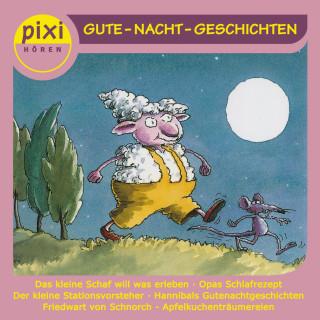 Ilona Waldera, Insa Bauer, Jonas Kötz, Katja Reider, Andreas Rockener: PIXI hören - Gute Nacht-Geschichten
