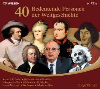 40 bedeutende Personen der Weltgeschichte | Achim Höppner ...