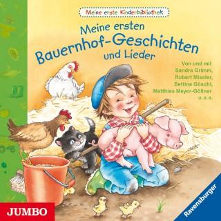 Sandra Grimm, Marlis Scharff-Kniemeyer: Meine erste Kinderbibliothek. Meine ersten Bauernhof-Geschichten und Lieder