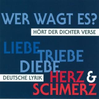 Johann Wolfgang von Goethe, Rainer Maria Rilke, Hugo von Hofmannsthal, Friedrich Nietzsche: Deutsche Lyrik