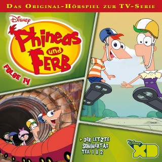 Gabriele Bingenheimer: Disney/Phineas und Ferb - Folge 14
