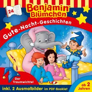 Vincent Andreas: Benjamin Blümchen - Gute-Nacht-Geschichten - Folge 24: Der Traumwichtel