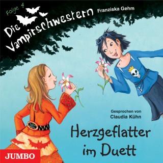 Franziska Gehm: Die Vampirschwestern. Herzgeflatter im Duett