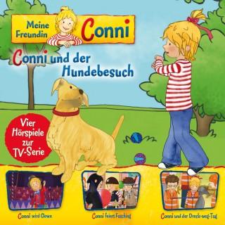Daniel May, Ludger Billerbeck, Liane Schneider, Nana Andrea Meyer: 09: Conni und der Hundebesuch / Conni wird Clown / Conni feiert Fasching / Conni und der Dreck-weg-Tag (Vier Hörspiele zur TV-Serie)