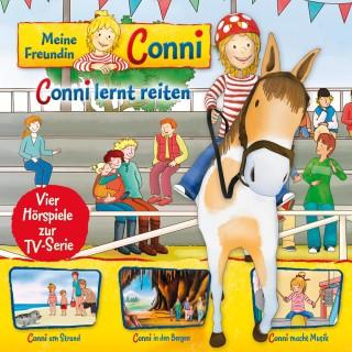 Ludger Billerbeck, Liane Schneider, Arne Gedigk, Nana Andrea Meyer: 06: Conni lernt reiten / Conni am Strand / Conni in den Bergen / Conni macht Musik (Vier Hörspiele zur TV-Serie)