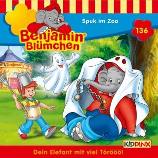 Vincent Andreas: Benjamin Blümchen - Folge 136: Spuk im Zoo