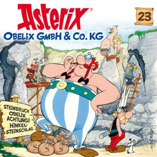 René Goscinny, Albert Uderzo: 23: Obelix GmbH & Co. KG