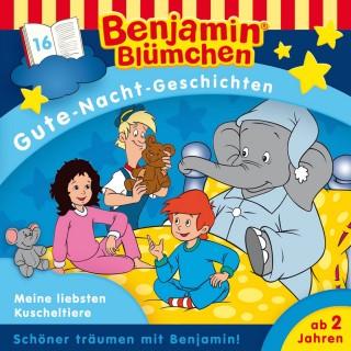 Vincent Andreas: Benjamin Blümchen - Gute-Nacht-Geschichten - Meine liebsten Kuscheltiere