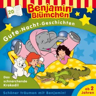 Vincent Andreas: Benjamin Blümchen - Gute-Nacht-Geschichten - Das schnarchende Krokodil