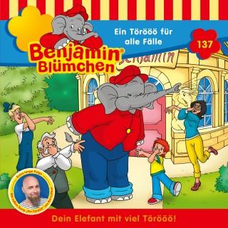 Vincent Andreas: Benjamin Blümchen - Folge 137: Ein Törööö für alle Fälle