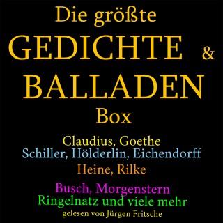 Anonymus: Die größte Gedichte und Balladen Box: 800 Meisterwerke