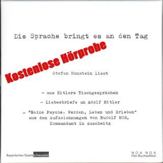Adolf Hitler: Die Sprache bringt es an den Tag - kostenlose Hörprobe