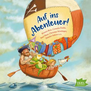 Anja Fröhlich, Kirsten Boie, Cornelia Funke, Paul Maar: Auf ins Abenteuer!