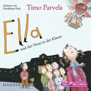 Timo Parvelal: Ella und der Neue in der Klasse