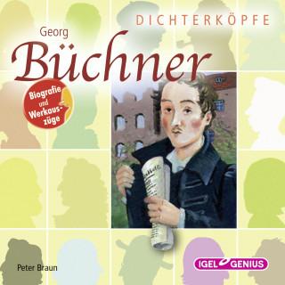 Peter Braun: Dichterköpfe. Georg Büchner