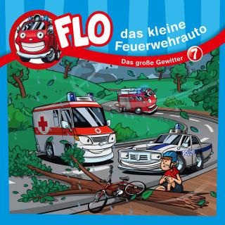 Christian Mörken: Das große Gewitter (Flo, das kleine Feuerwehrauto 7)