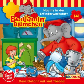 Vincent Andreas: Benjamin Blümchen - Folge 141: Nachts in der Erfinderwerkstatt