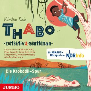 Kirsten Boie, Angela Gerrits: Thabo - Detektiv & Gentleman. Die Krokodil-Spur