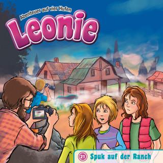 Christian Mörken: Spuk auf der Ranch (Leonie - Abenteuer auf vier Hufen 21)