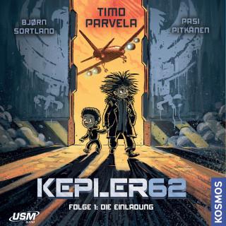 Timo Parvela, Bjørn Sortland: Kepler62 Folge 1: Die Einladung