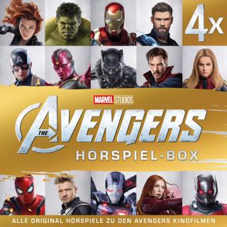 Gabriele Bingenheimer: MARVEL Avengers - The Avengers Hörspiel-Box