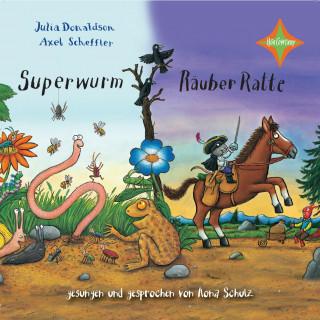 Julia Donaldson, Axel Scheffler: Superwurm / Räuber Ratte