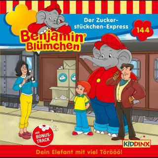 Vincent Andreas: Benjamin Blümchen - Folge 144: Der Zuckerstückchen-Express