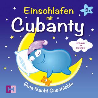 Cubanty Kuscheltier: Strand und Wolken - Gute Nacht Geschichte