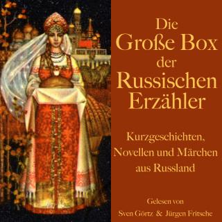 Leo Tolstoi, Alexander Puschkin: Die große Hörbuch Box der russischen Erzähler
