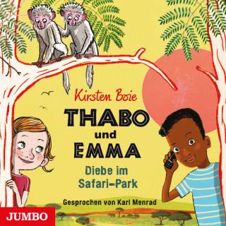 Kirsten Boie: Thabo und Emma. Diebe im Safari-Park
